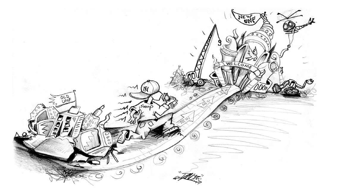 Editorial: UNF shines in rainy financial season