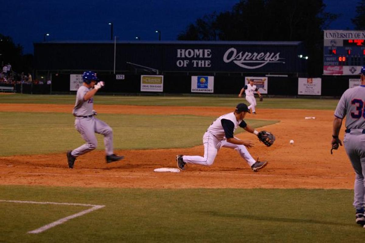 Ospreys defeat Gators in front of 3,194